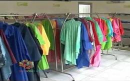 Sử dụng và bảo quản áo mưa